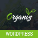 Organiz - A Organic Store, Food, Vegetable Shop WordPress WooCommerce Theme