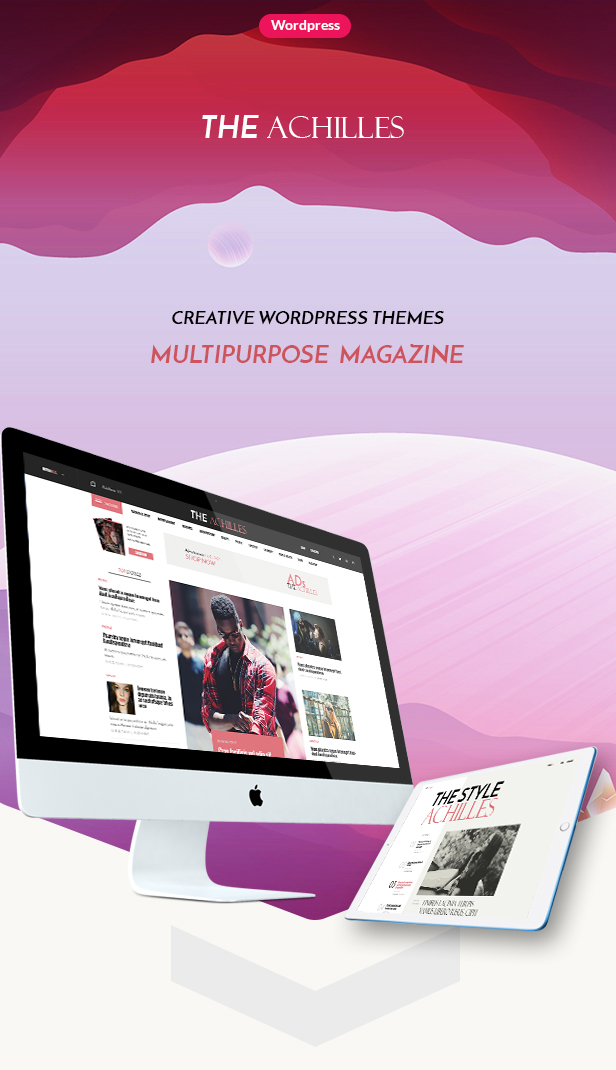 Achilles - Multipurpose Magazine & Blog WordPress Theme - 9