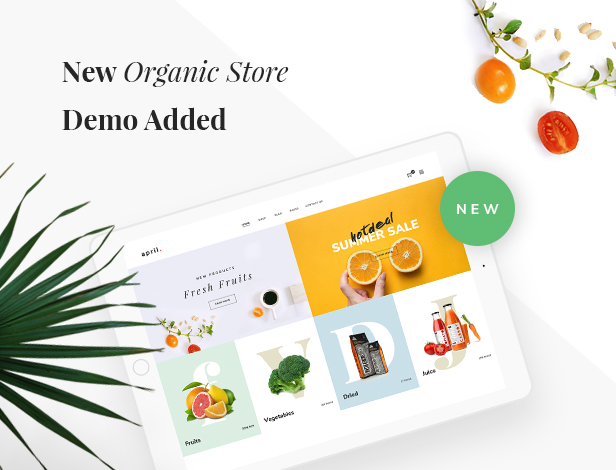 APRIL - Fashion WooCommerce WordPress Theme - 20