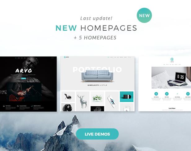 Arvo - A Clever & Flexible Multipurpose WordPress Theme - 9