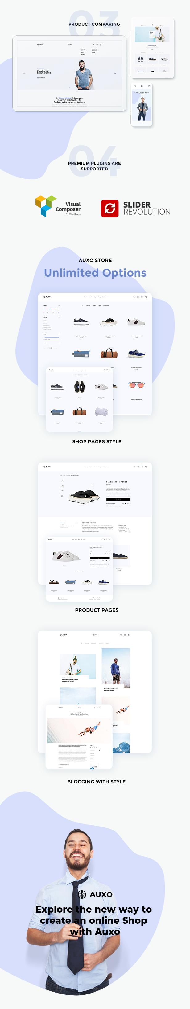 Auxo – Minimal WooCommerce Shopping WordPress Theme - 10