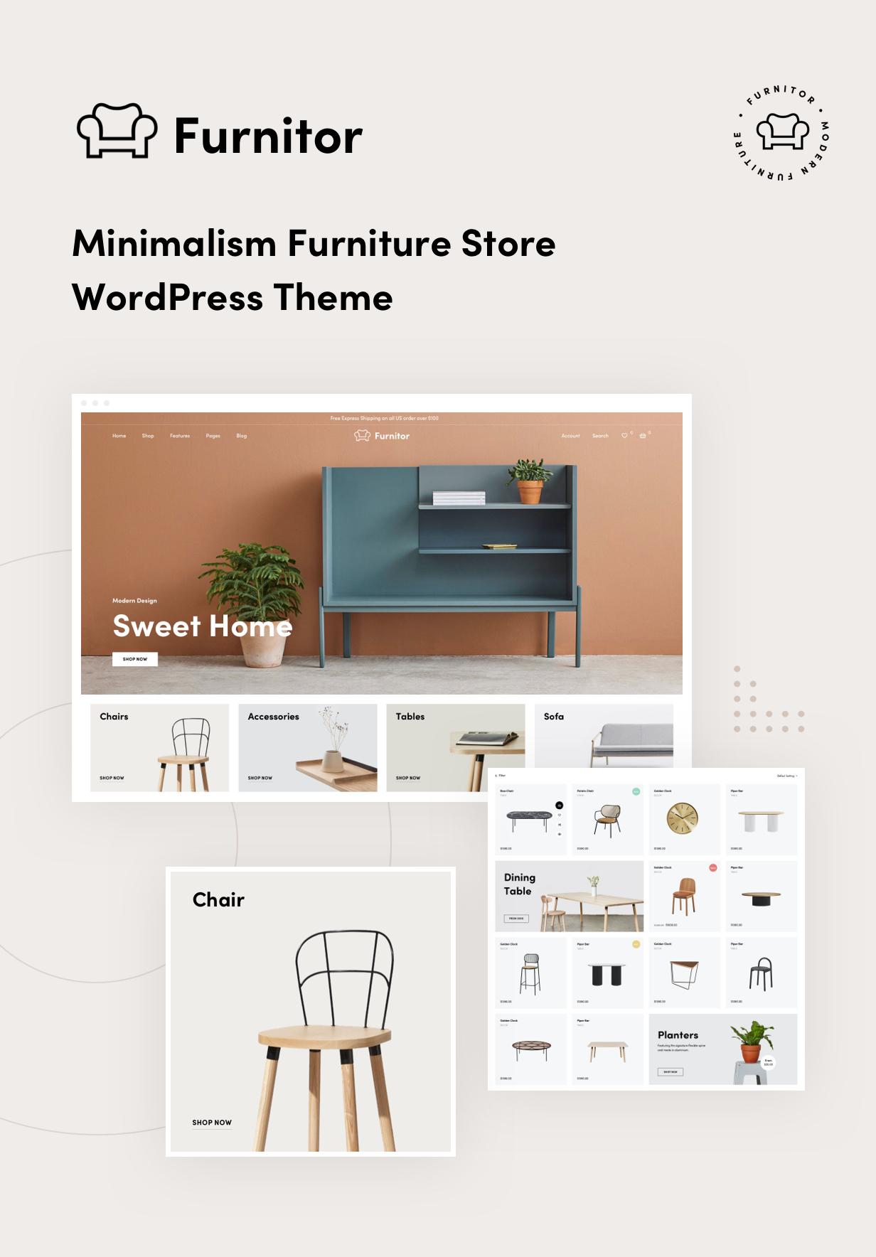 Furnitor – Minimalism Furniture Store WordPress Theme - 9