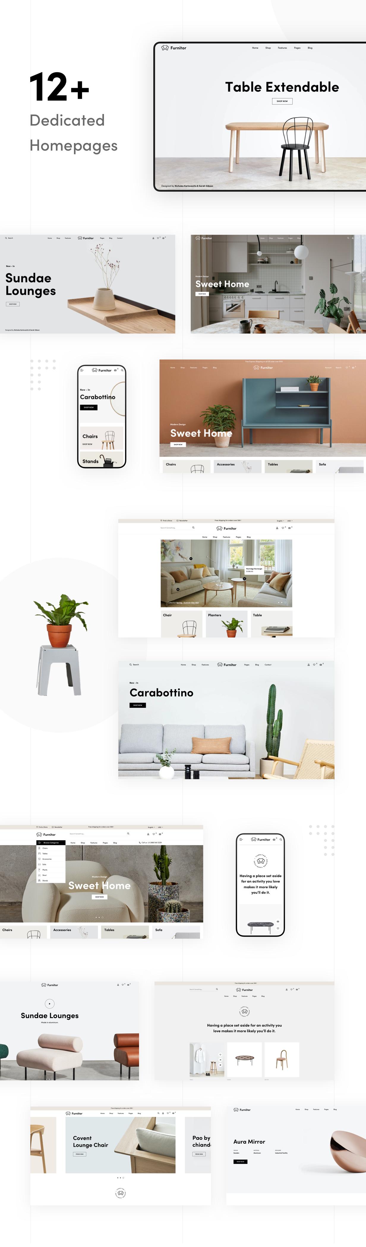 Furnitor – Minimalism Furniture Store WordPress Theme - 10