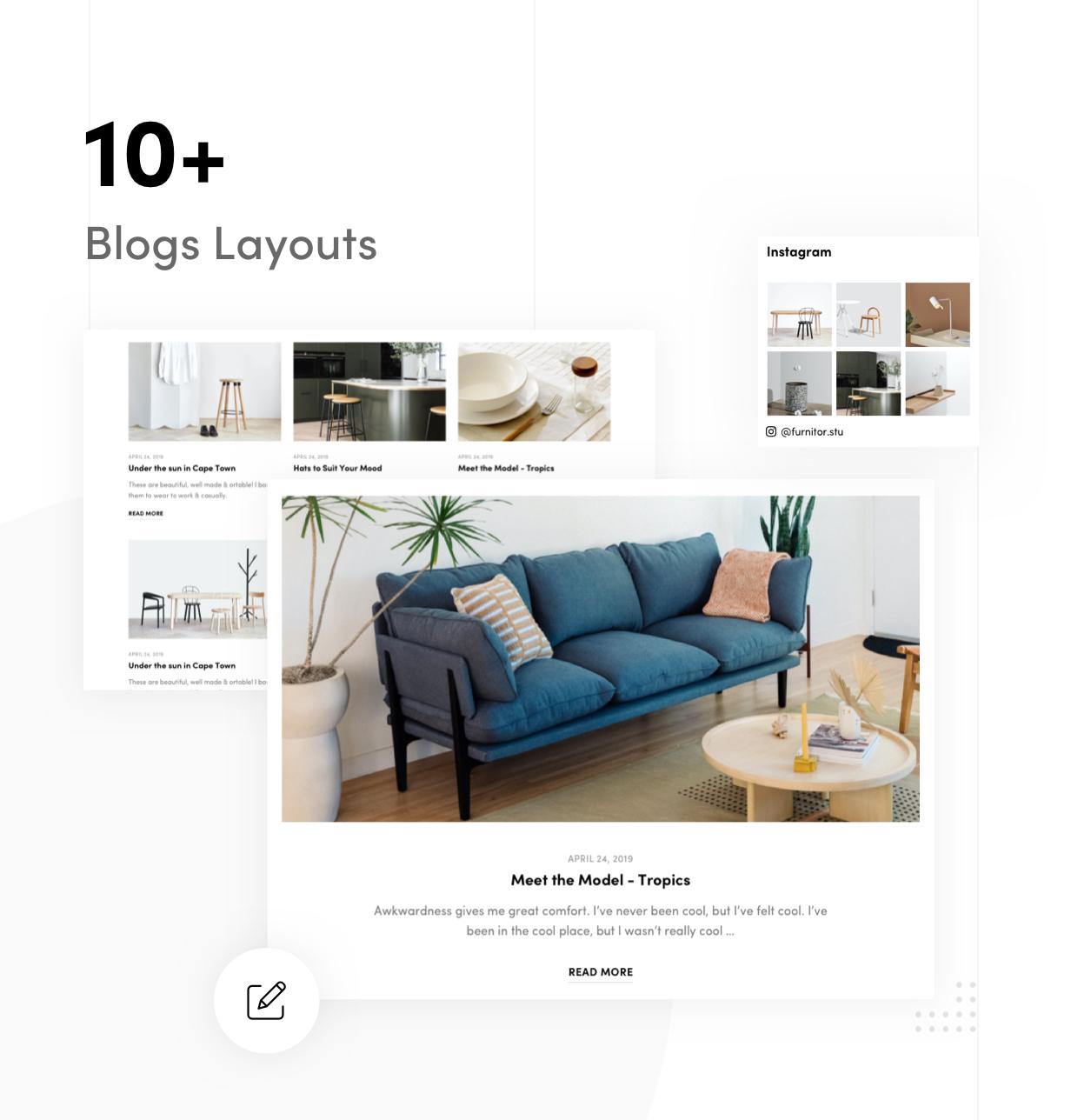 Furnitor – Minimalism Furniture Store WordPress Theme - 13
