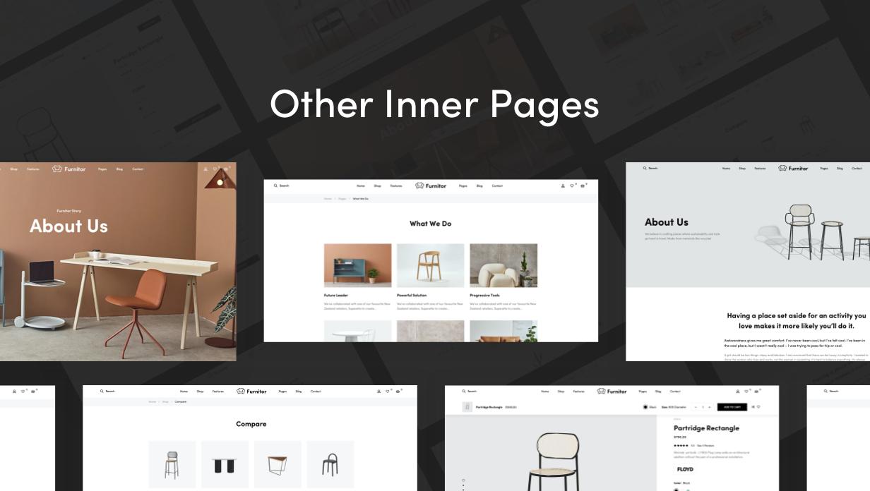 Furnitor – Minimalism Furniture Store WordPress Theme - 14