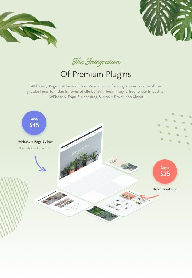 Lustria - MultiPurpose Plant Store WordPress Theme - 14