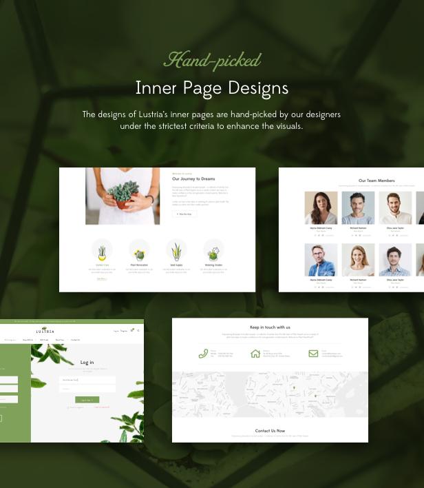 Lustria - MultiPurpose Plant Store WordPress Theme - 15