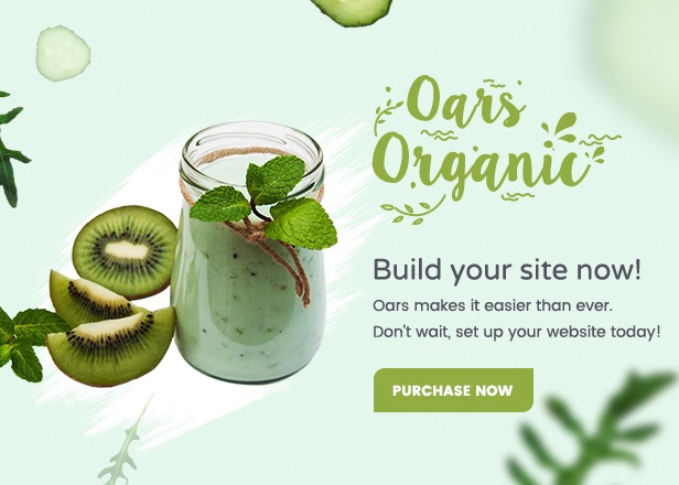 Oars - Creative Organic Store & Fresh Food WordPress Theme - 13