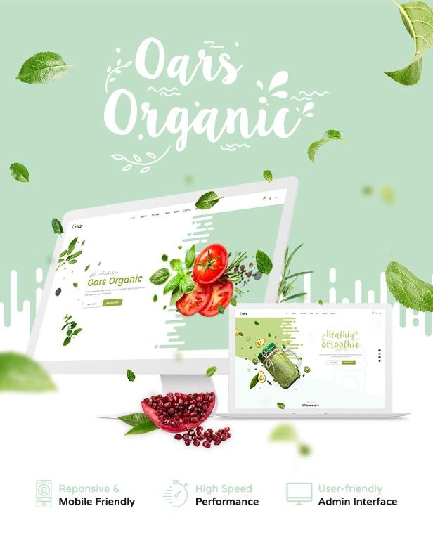 Oars - Creative Organic Store & Fresh Food WordPress Theme - 9