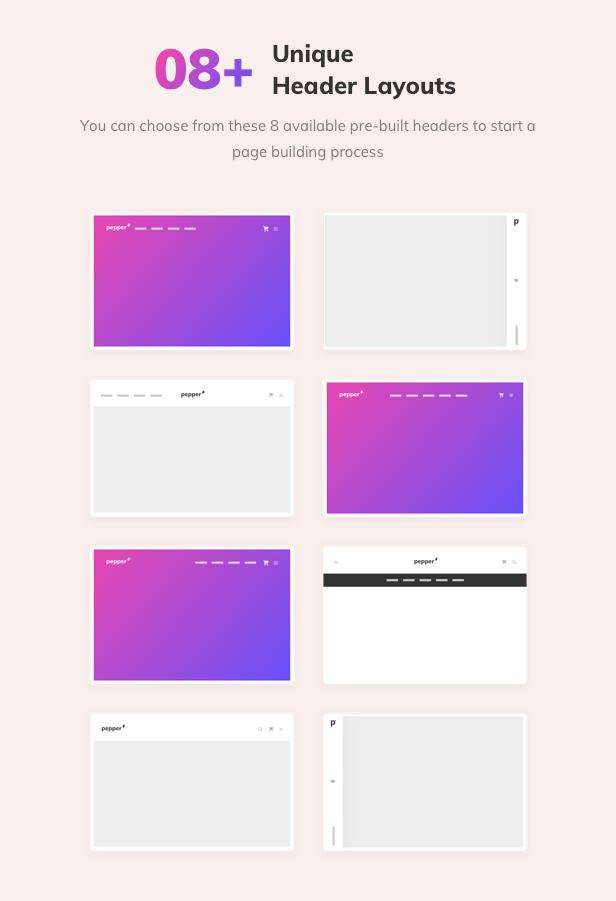 Pepper - Elegent Multi Purpose WordPress Theme - 12