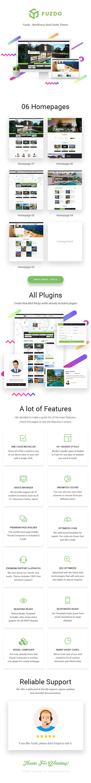 Fuzdo – Real Estate WordPress Theme (Real Estate) images preview wp