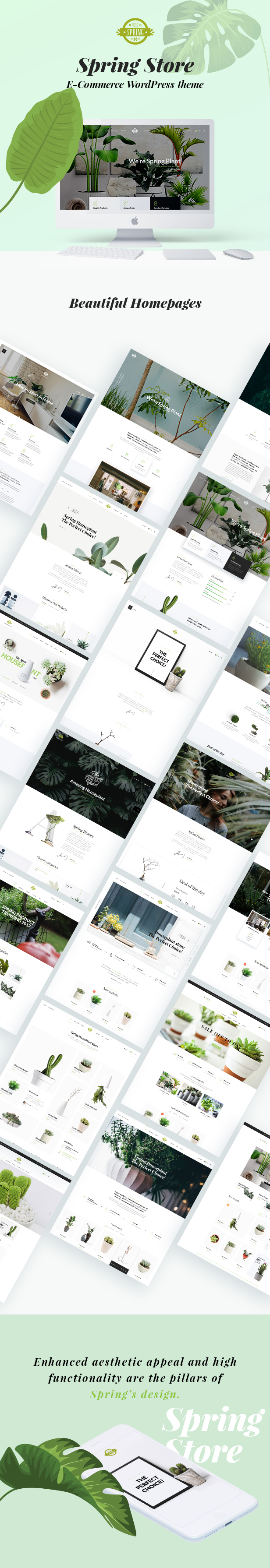Spring Plants - Gardening and House Plants WordPress Theme - 11
