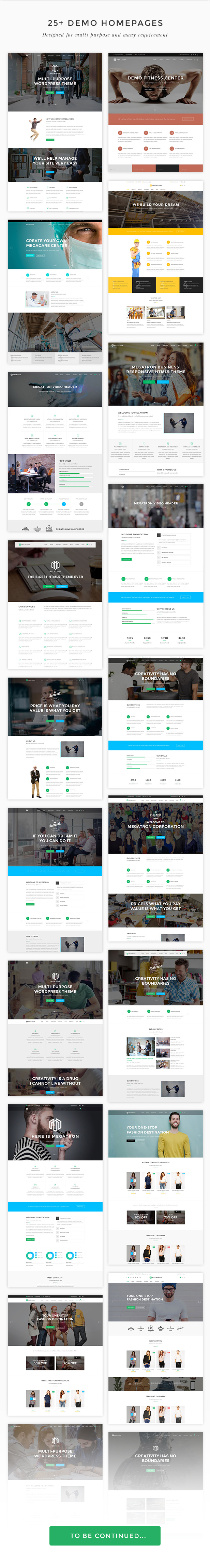 Megatron - Responsive MultiPurpose WordPress Theme - 4