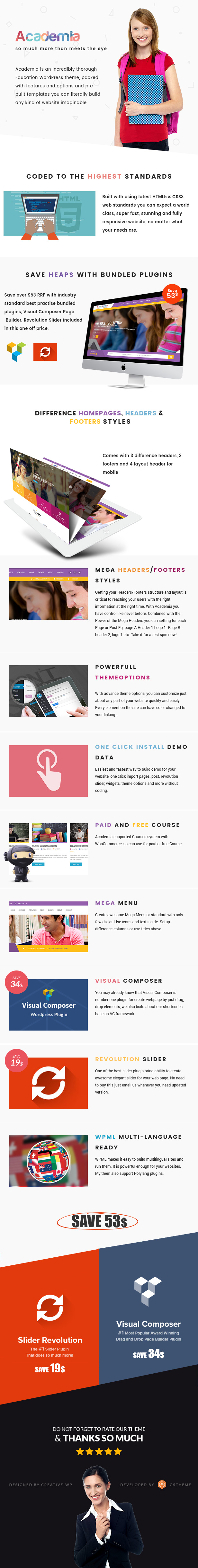 Academia - Education Center WordPress Theme - 13
