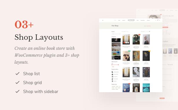 Auteur - Tema de WordPress para autores y editores - 11
