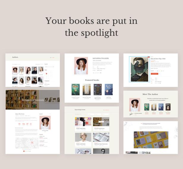 Auteur - Tema de WordPress para autores y editores - 12