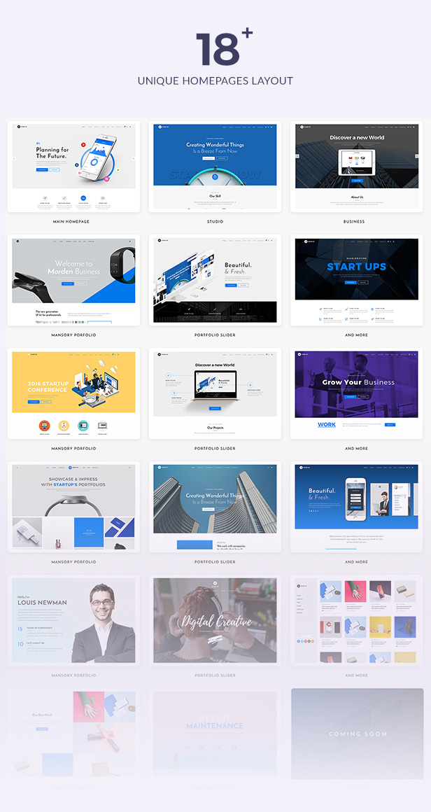 StartUp - Responsive Multi-Purpose WordPress Theme - 11